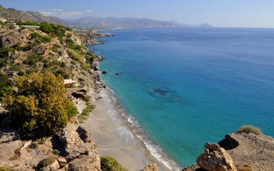Пляж в Агия-Фотия
