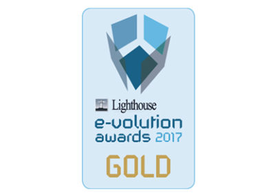 Lighthouse e-volution awards 2017 on Design and Aesthetics