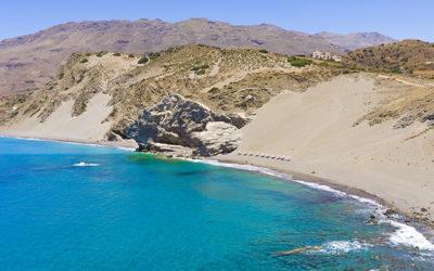 Agios Pavlos Sandhills' beach